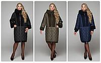 Зимние пальто королевского размера 56-68