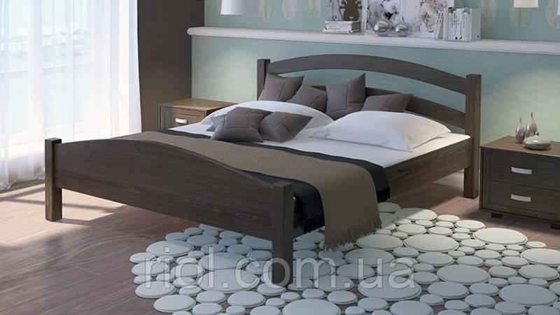 Кровать из массива дуба Арт-2 двуспальная