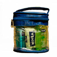 Nivea mini набор дезодорант-спрей + гель для душа + мыло НАБОР
