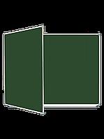 Школьная доска магнитная меловая, 3-пов. (225x100), в алюм.рамке