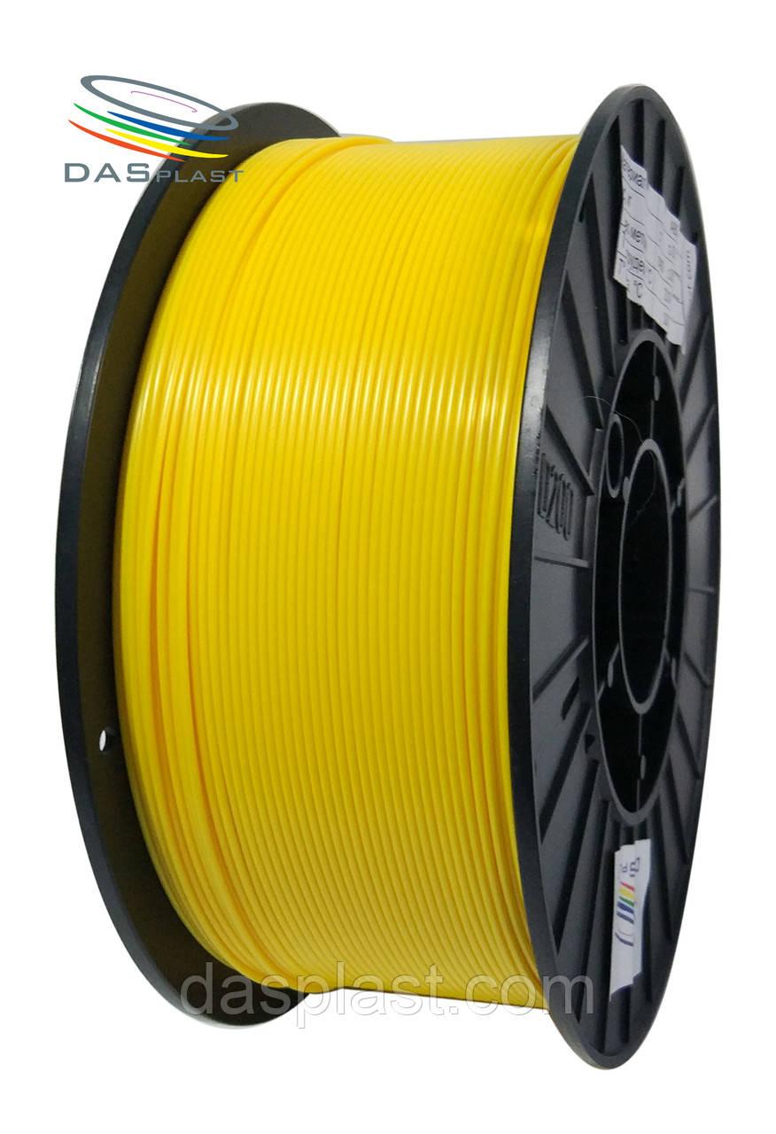 АБС пластик для 3d принтеров и ручек, желтый