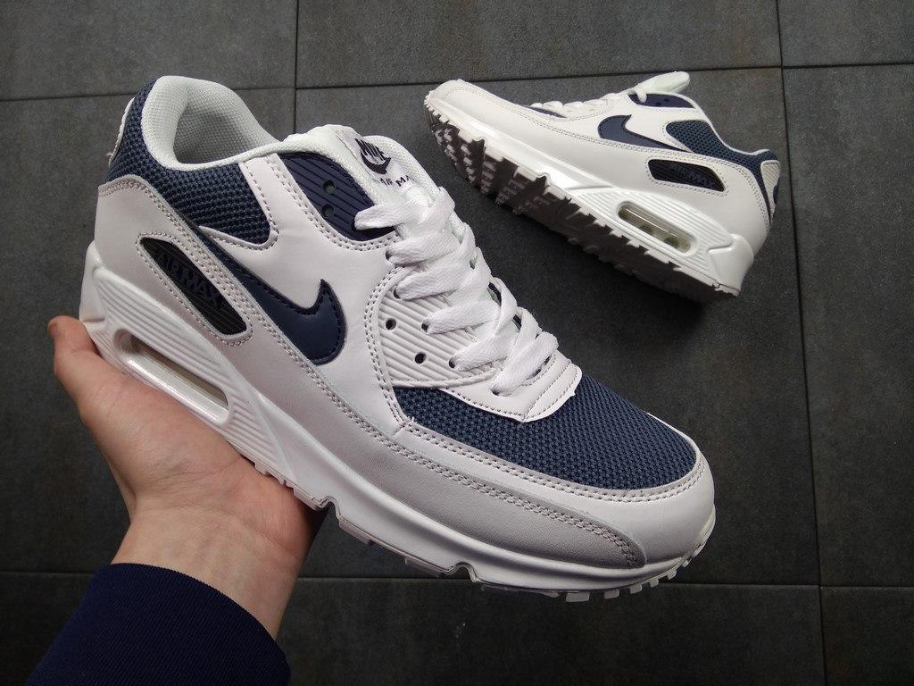 64a73ba5 Мужские Кроссовки Nike Air Max 90 Ultra Essential Blue (Реплика ААА ...
