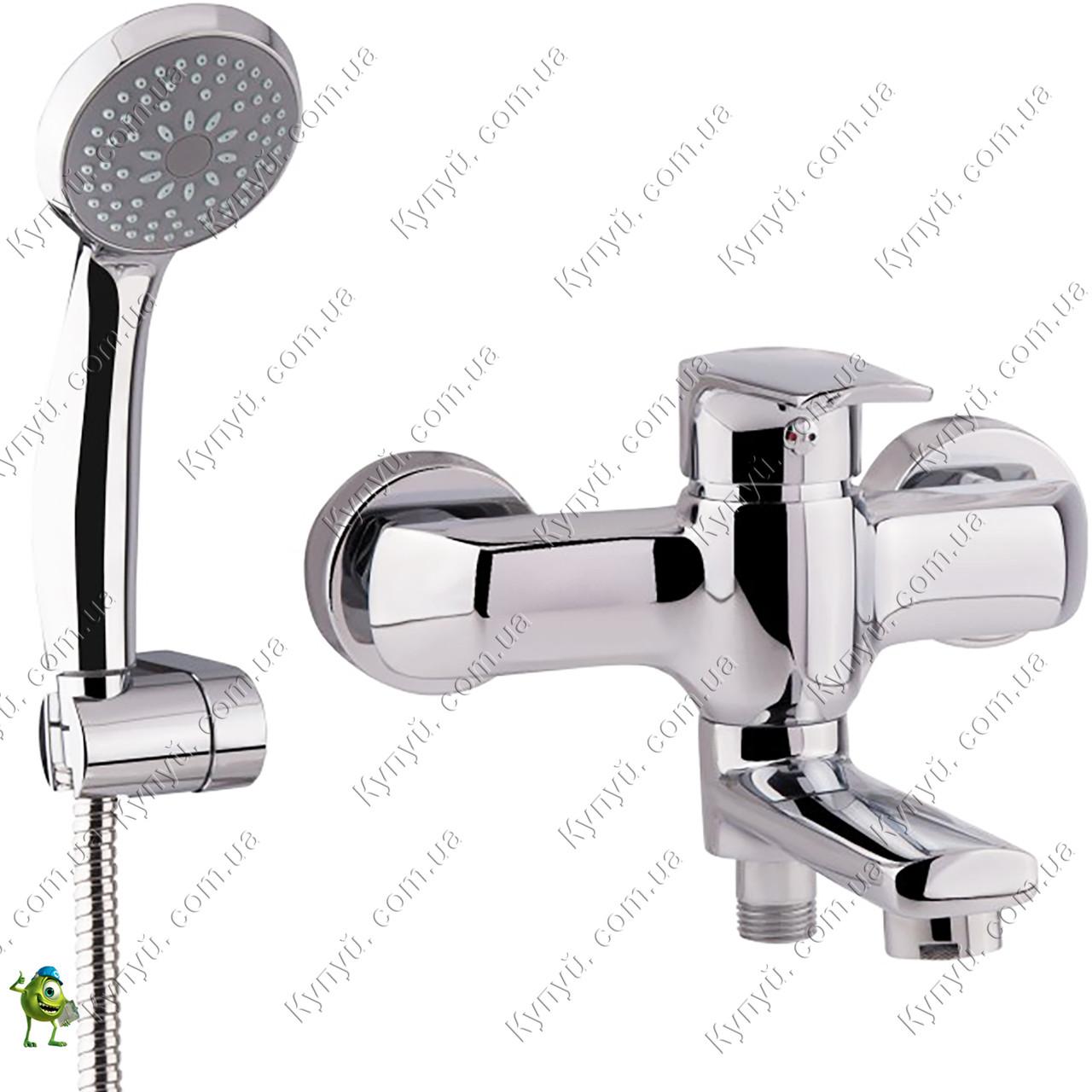 Смеситель для ванны Q-tap Tenso CRM-006AN