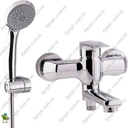 Смеситель для ванны Q-tap Tenso CRM-006AN, фото 2