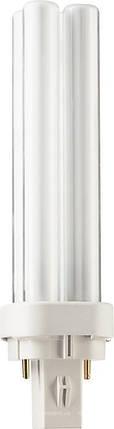 Лампа Osram DULUX D 18W/840 G24d-2 люмінесцентна, фото 2