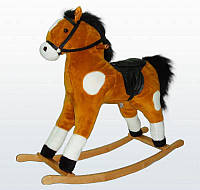 Мягкая игрушка Качалка Лошадь большая