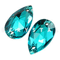 3230 Капля Blue Zircon 28x17mm