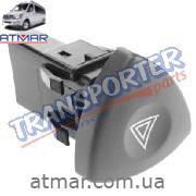 Кнопка аварийки (Renault Trafic)
