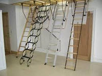 Чердачные лестницы, мансардные окна ROTO, FAKRO