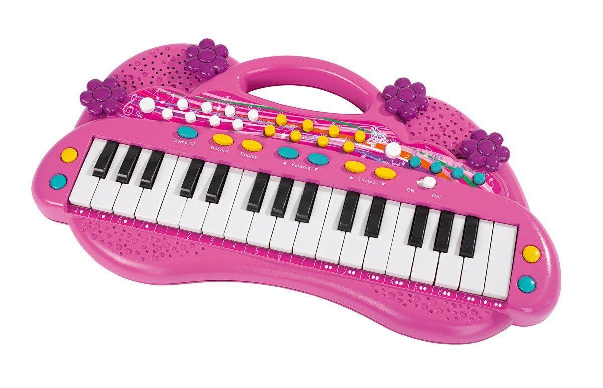 Электросинтезатор Девичий стиль пианино для девочек Simba 6830692