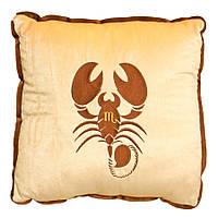 Мягкая игрушка Подушка зодиак Скорпион
