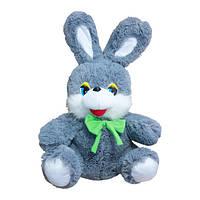 Мягкая игрушка Заяц Степашка средний серый