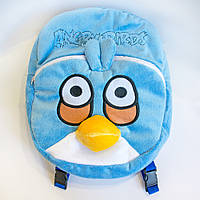 Рюкзак детский Птица Джим голубая (Angry birds)