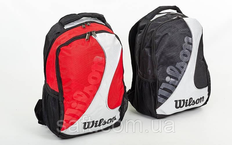 0433d161 Рюкзак спортивный Wilson BACKPACK (PL, р-р 48х35х21см, красный, черный)