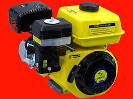 Бензиновый двигатель Sadko GE-200PRO с фильтром в масляной ванне и шлицевым валом