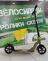 Самокат Explore TRUMPF 2*180 мм ABEC-7 100 кг оливковий AS120616 Amigo sport