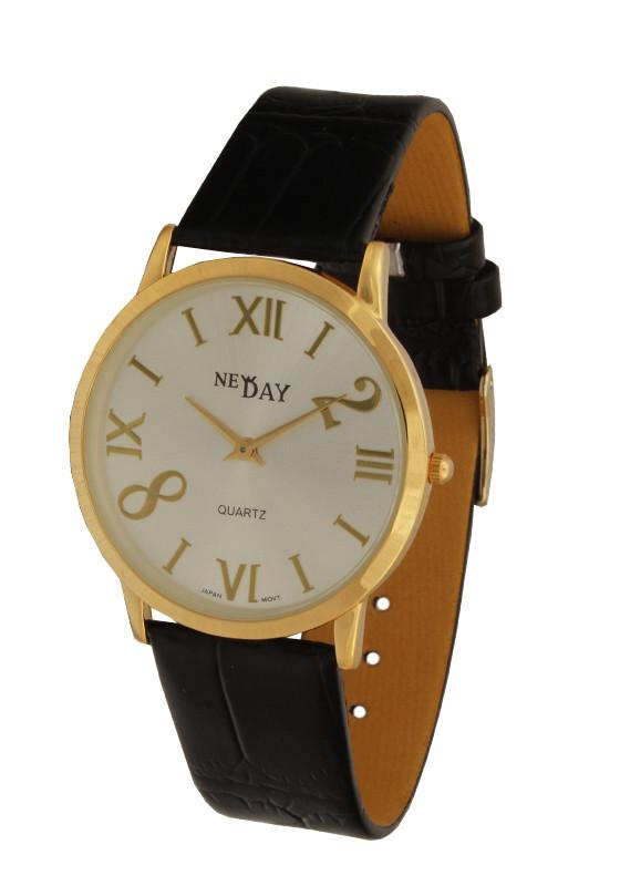 Часы NewDay унисекс тонкий корпус Slim