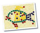 Развивающая игра Мозаика в кейсе Simba 6307440 , фото 2