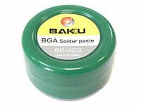 BGA паста BAKU BK-30G, Sn 63%, Pb 37%, 30 мл