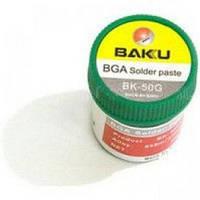 BGA паста BAKU BK-50G, Sn 63%, Pb 37%, 50 мл