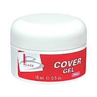 BLAZE Cover Gel - УФ гель камуфлирующий, Pink, 15 мл