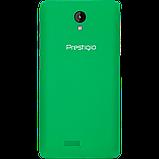 Удобный компактный смартфон на 2 сим карты 4,5 дюйма 4 ядра 0,5/4Gb Prestigio Wize OK3 зелёный, фото 4
