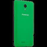 Удобный компактный смартфон на 2 сим карты 4,5 дюйма 4 ядра 0,5/4Gb Prestigio Wize OK3 зелёный, фото 2
