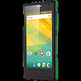 Удобный компактный смартфон на 2 сим карты 4,5 дюйма 4 ядра 0,5/4Gb Prestigio Wize OK3 зелёный, фото 6