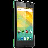 Удобный компактный смартфон на 2 сим карты 4,5 дюйма 4 ядра 0,5/4Gb Prestigio Wize OK3 зелёный, фото 5