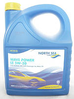 Масло LE 5W30 Wave power 5л  North Sea