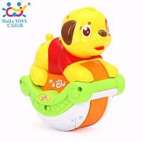 Детские игрушки Huile Toys, музыкальная собачка 3105A