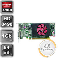 Видеокарта PCI-E ATI Radeon HD8490 (1Gb/GDDR3/64bit/DVI/DP) LP б/у