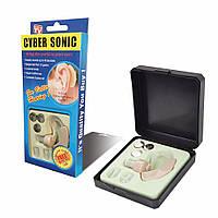 Слуховой аппарат Syber Sonic, усилитель звука до 40дБ с вкладышами в ухо (04090)