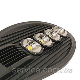 Светильник LED уличный консольный ЕВРОСВЕТ ST-200-04 200Вт 6400К 18000Лм серый SMD (для автомагистралей)