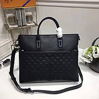 Кожаный мужской портфель Louis Vuitton