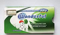 Жевательная резинка Wonderful арбуз 12 подушечек Турция