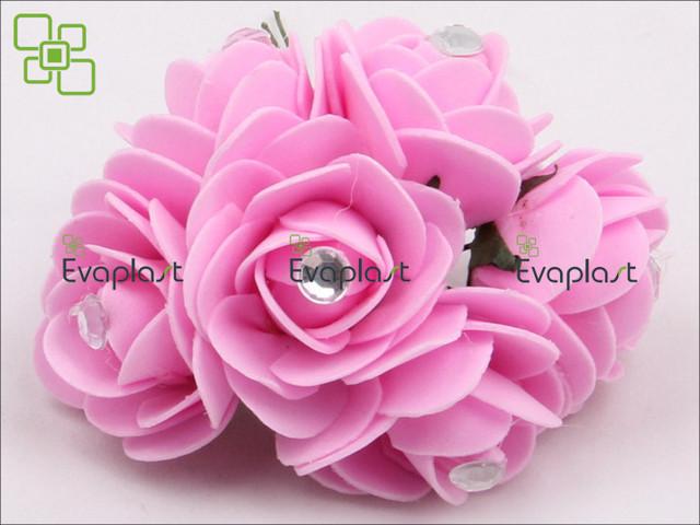 Цветы из эва