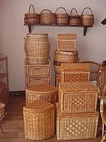 Ящики плетеные