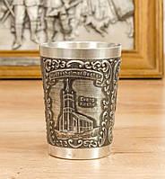Коллекционный оловянный бокал, пищевое олово,  Германия, 180 мл, фото 1
