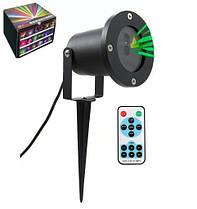 Лазерный проектор - цвет зеленый  (міні-лазерна установка) - Laser Garden Light + пульт.