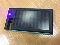 Power Bank 10400mA 2usb+солнечная батарея+фонарик