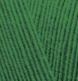 Пряжа Alize Lanagold Fine 118 ( Ланаголд файн) зеленая трава