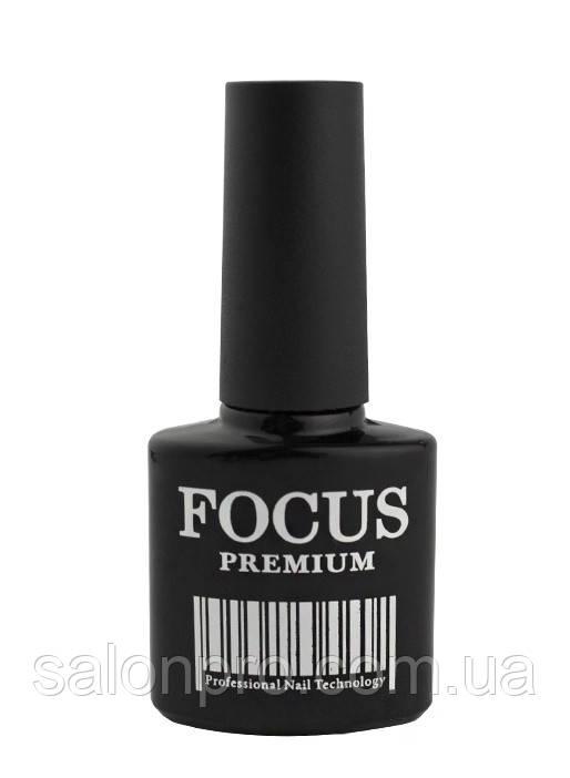 FOCUS Premium Rubber Top - каучуковый топ, финишное покрытие для гель-лака, 8 мл
