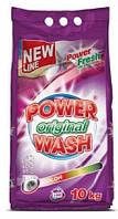 Стиральный порошок Power Wash Original Color для стирки цветного белья 10 кг