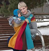 Cлинг с кольцами LUNA DREAM Rainbow Wool (40 % шерсти)