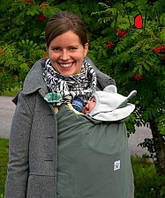 Cлингонакидка/спальник Multi Babywearing Cover/Footmuff Stormcloud/Glacier Gray MAM (оливковый)
