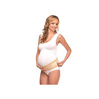 Бандаж универсальный для беременных и кормящих (215) МАМИН ДОМ (бежевый, размер L)