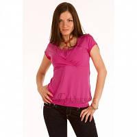 Блуза для вагітних і годуючих Малина ГРУДНИЧОК (розмір 50/52,рожевий)