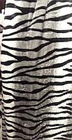 Качественный плед-покрывало-простынь с микрофибры Nanhwa Зебра, фото 1