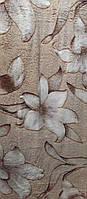 Качественный плед-покрывало-простынь с микрофибры Nanhwa Цветы, фото 1